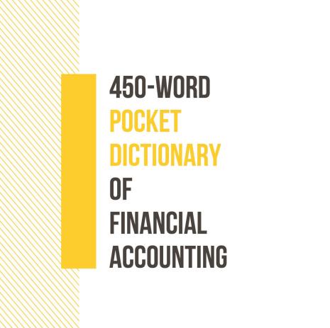 Chia sẻ Ebook 450 thuật ngữ tiếng Anh kế toán - kiểm toán