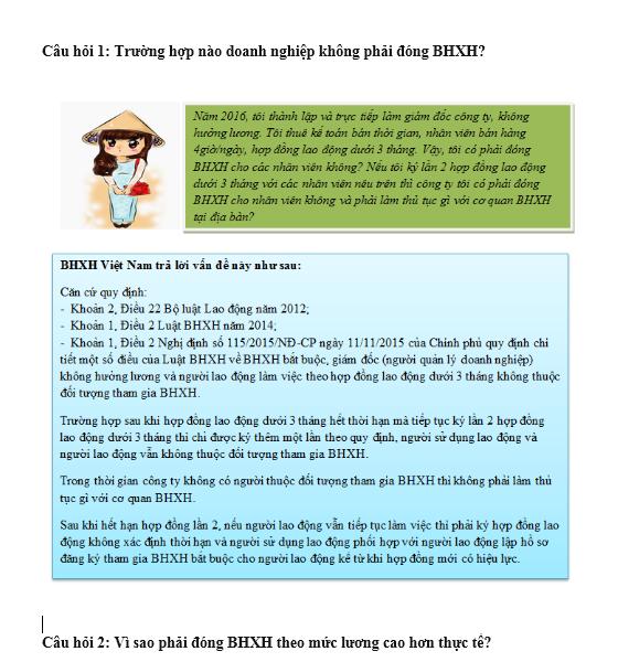 7 vấn đề cần biết về BHXH
