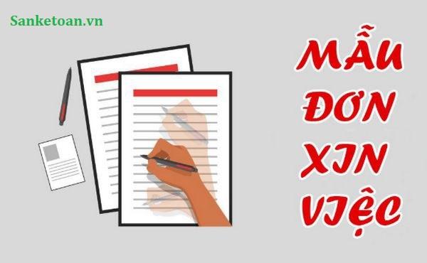 Cách viết một đơn xin việc đối với kế toán và những lưu ý khi gửi hồ sơ xin việc.