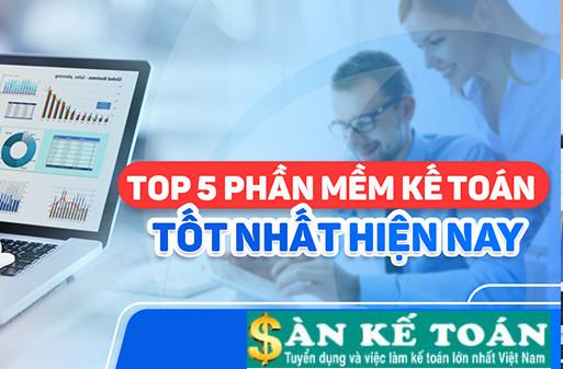 Top 5 phần mềm kế toán do Việt Nam sản xuất phổ biến hiện nay