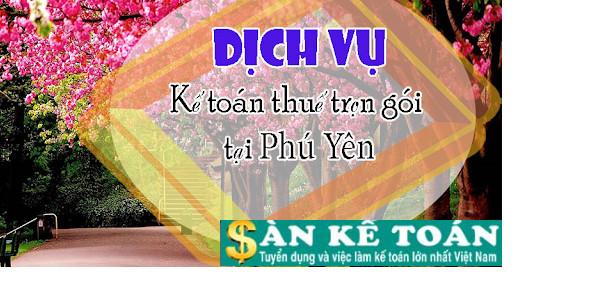 Top 4 công ty dịch vụ kế toán thuế tại Phú Yên