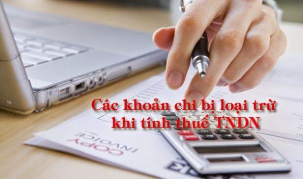 Các khoản chi phí được trừ và không được trừ khi tính thuế TNDN 2021