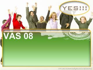 VAS08 - Thông tin tài chính về những khoản vốn góp liên doanh