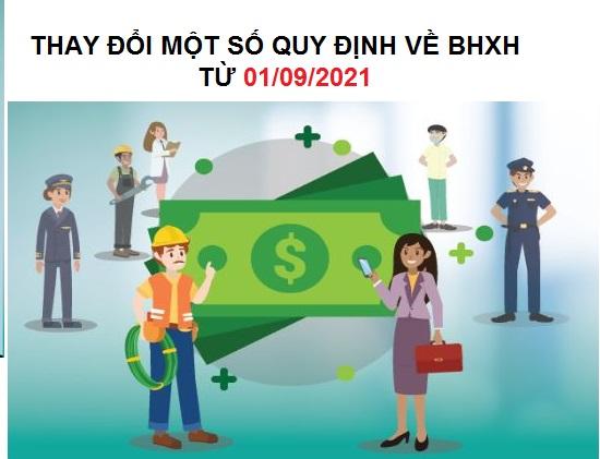 Những điểm mới về BHXH từ 01/09/2021 mà kế toán nào cũng phải biết